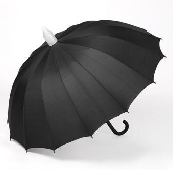 Auto Open Plastic Cover Umbrella