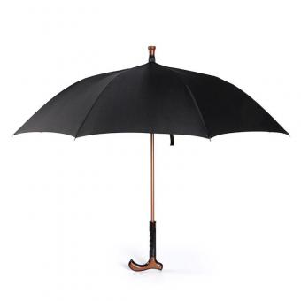 Crutch Walking Stick Umbrella for Mens